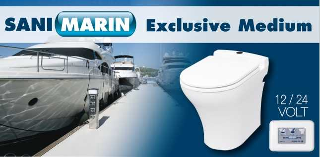 SANIMARIN EXCLUSIVE MEDIUM COMFORT 12V