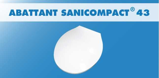 ABATTANT SANICOMPACT 43 ET 48 (C43)