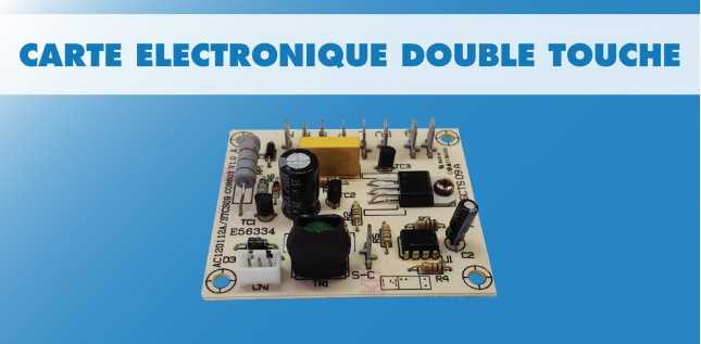 CARTE STANDARD BOUTON DOUBLE CHASSE