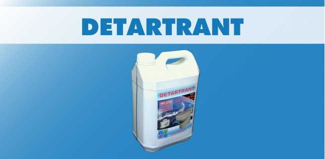 DETARTRANT - CONDITIONNEMENT 5L