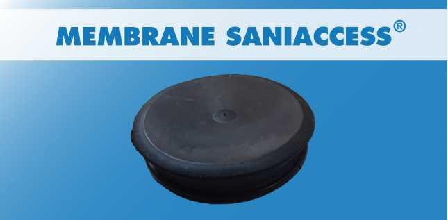 MEMBRANE RONDE SANIACCESS (PRESSOSTUBE)