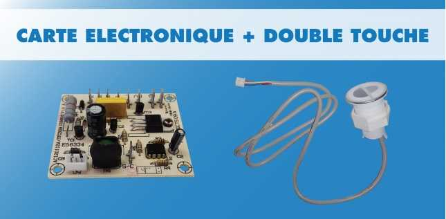 PACK CARTE + BOUTON DOUBLE CHASSE