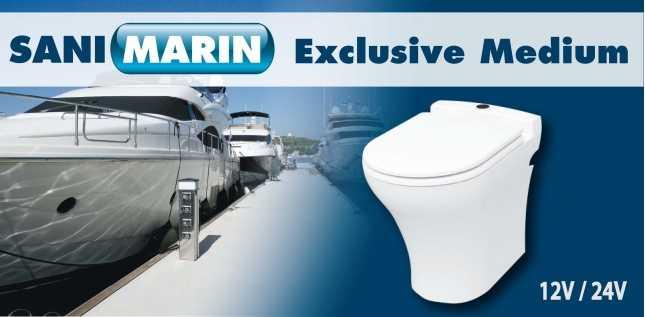 SANIMARIN EXCLUSIVE MEDIUM COMFORT PLUS 110V