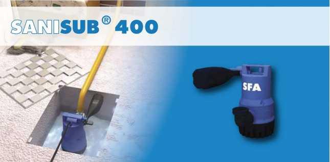 SANISUB 400 - POMPE POUR EAUX USEES