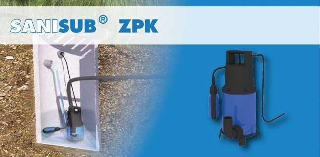 SANISUB ZPK30 A - EAUX USEES