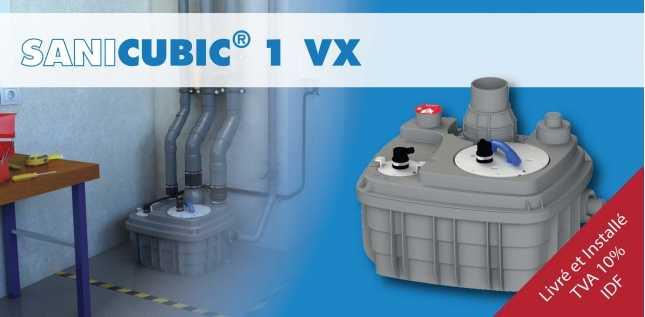 SANICUBIC 1 VX TVA 10 %