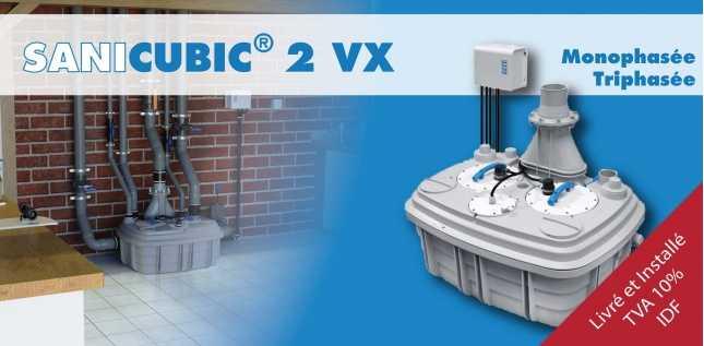SANICUBIC 2 VX TVA 10 %