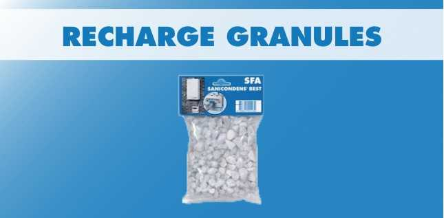 RECHARGE GRANULES SANICONDENS/SANINEUTRAL